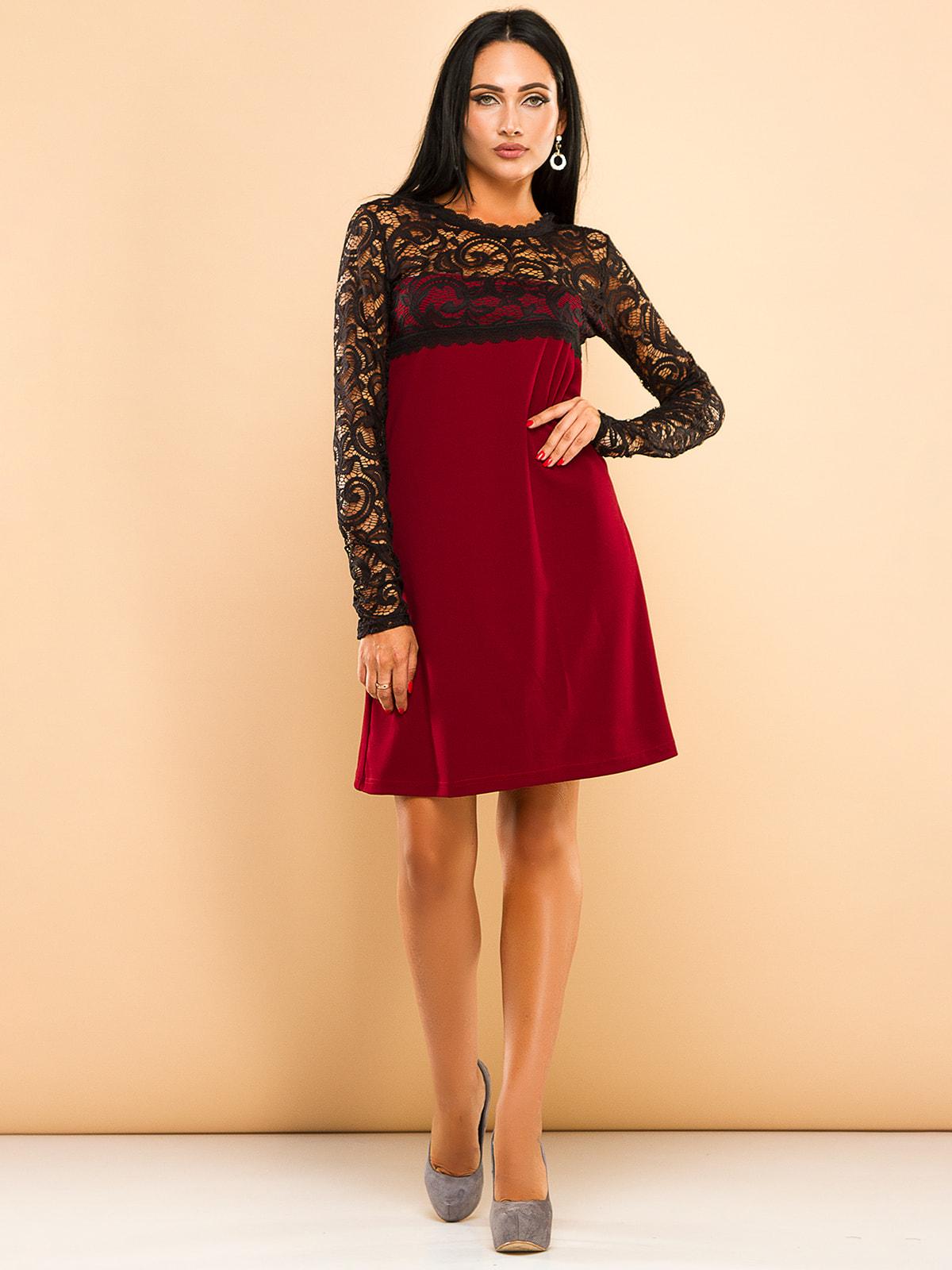 Сукня бордова   4669711