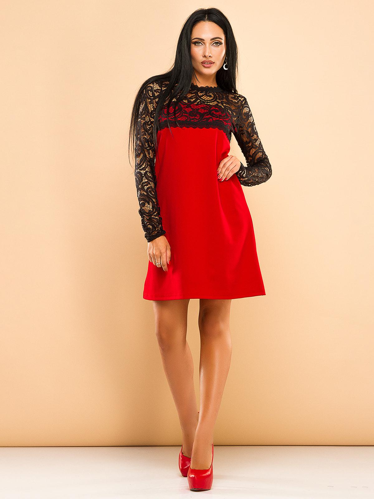 Платье красное | 4669714
