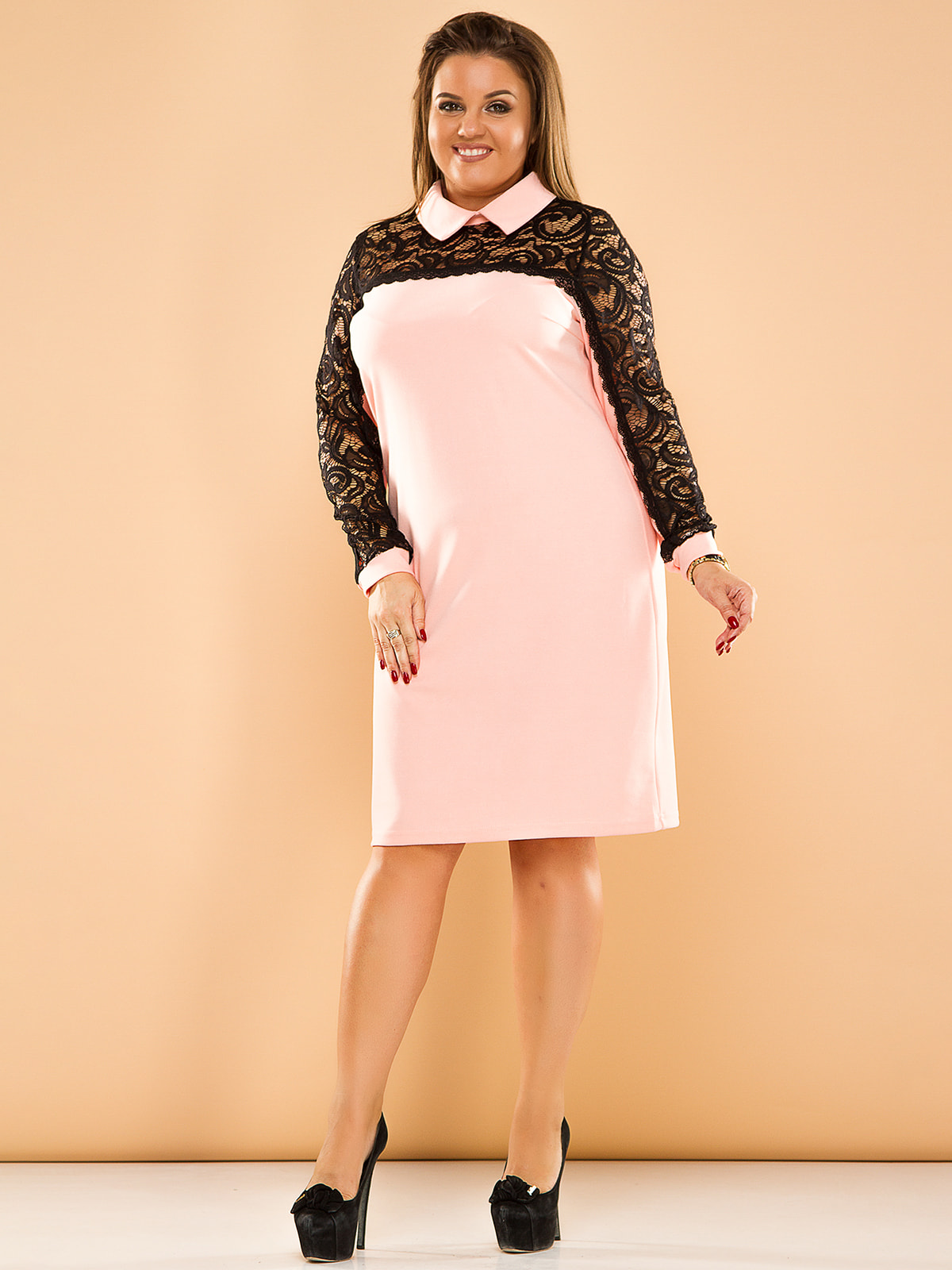 Платье двухцветное   4669821
