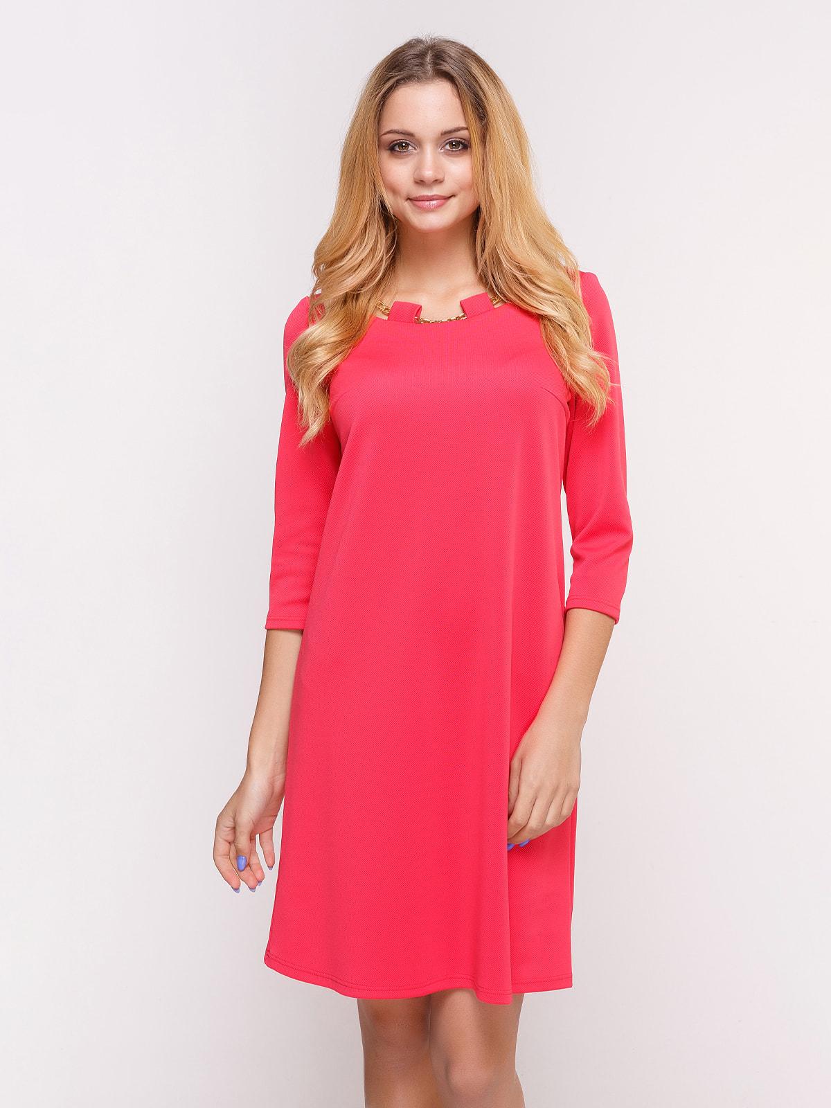 Платье коралловое | 4658430