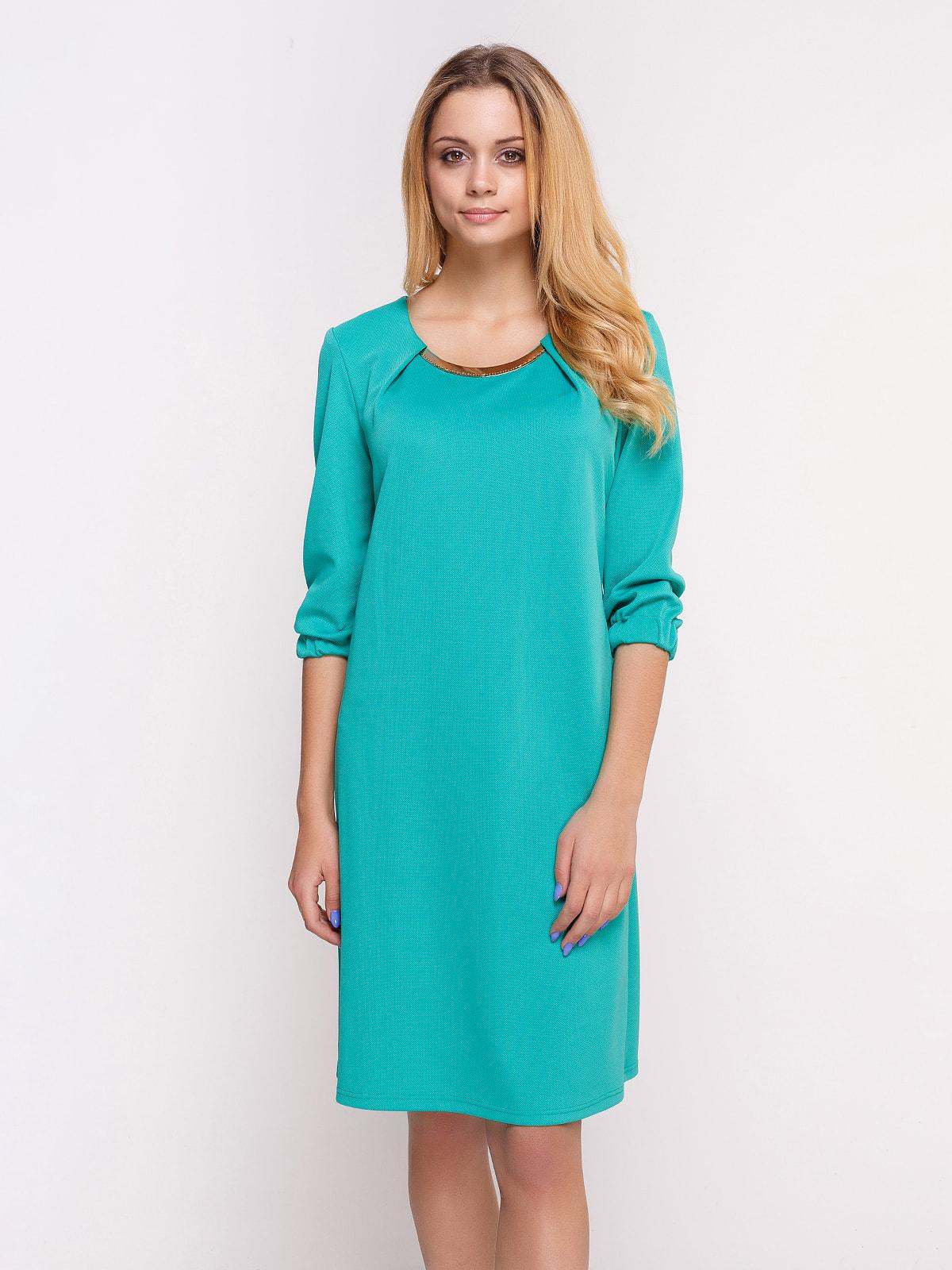 Сукня бірюзова | 4658431