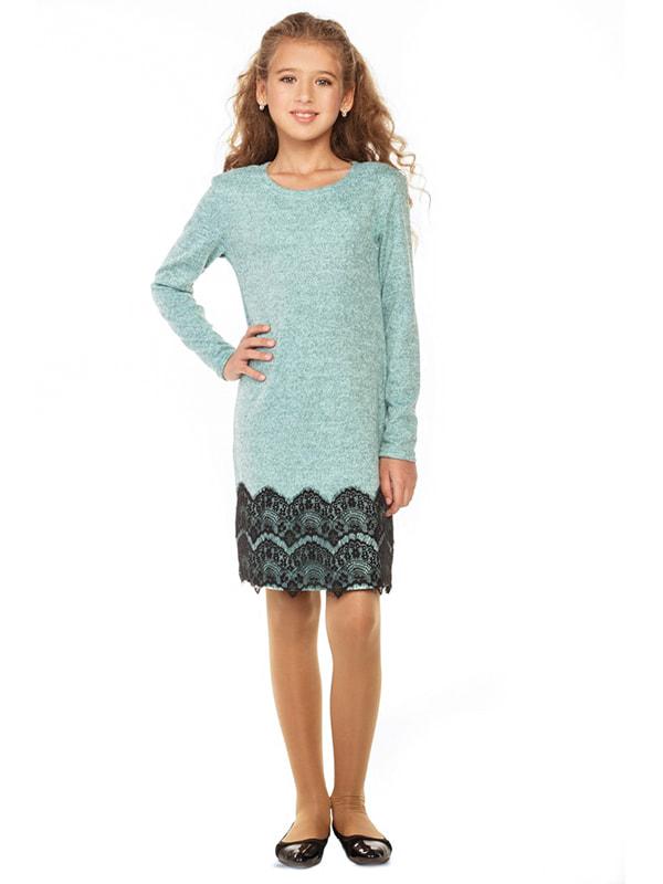 Платье бирюзовое   4672709
