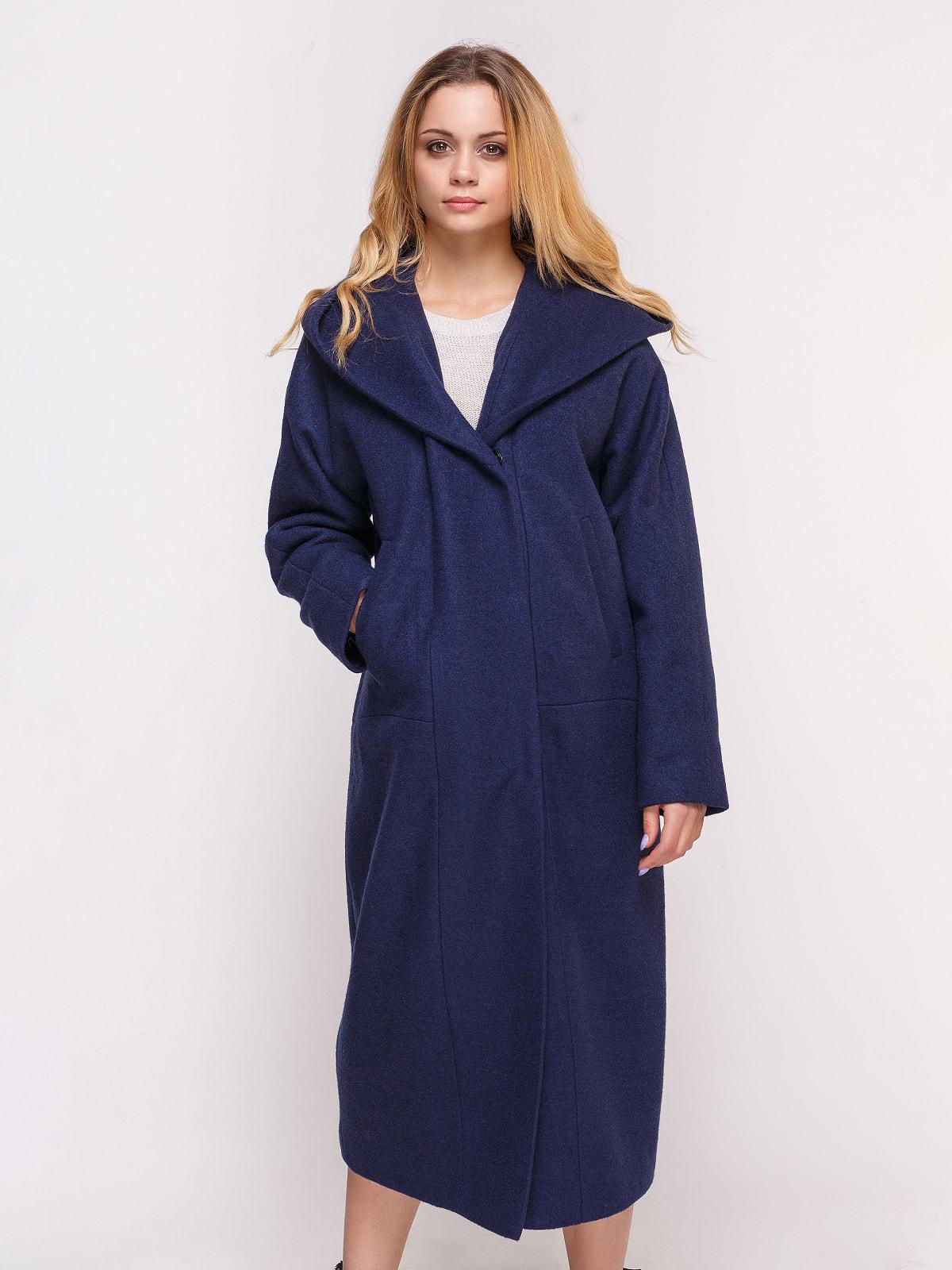 Пальто темно-синее | 4658408