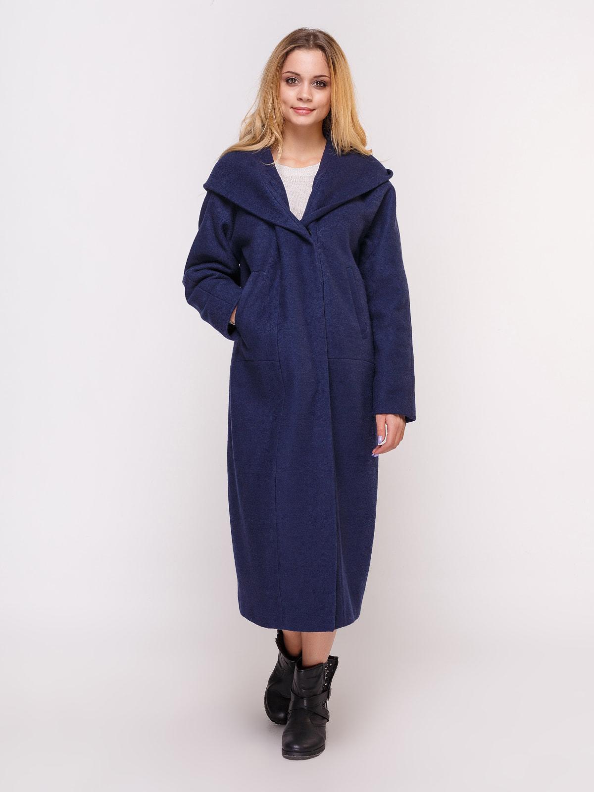 Пальто темно-синее | 4658408 | фото 2