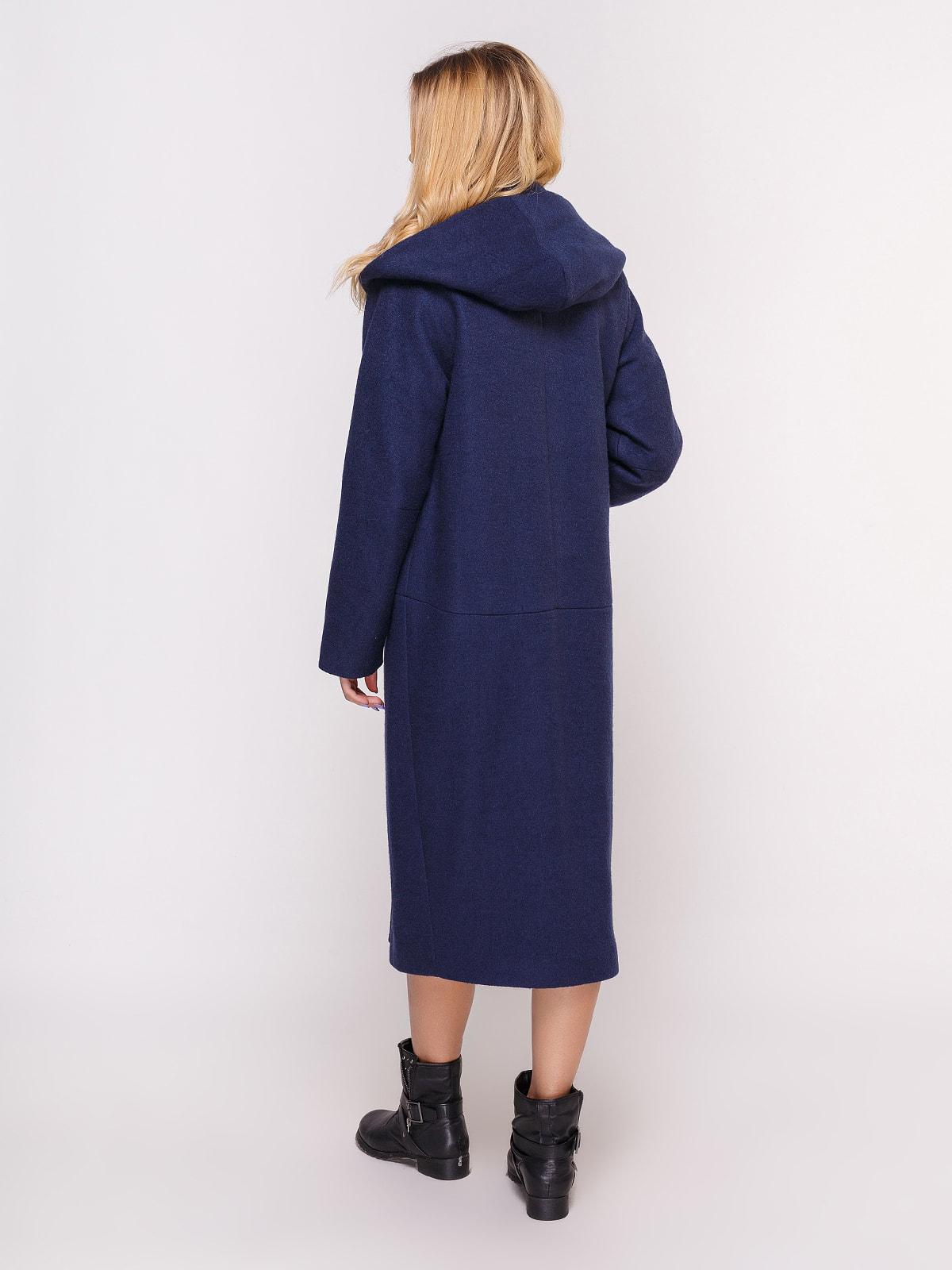 Пальто темно-синее | 4658408 | фото 3