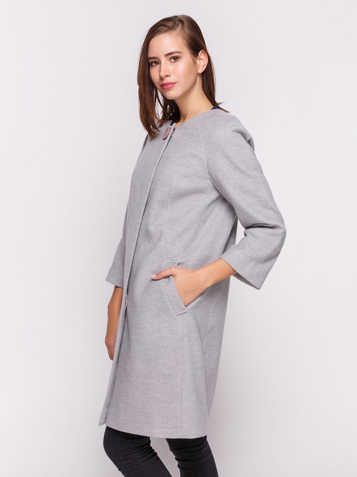 Пальто сіре | 4658398