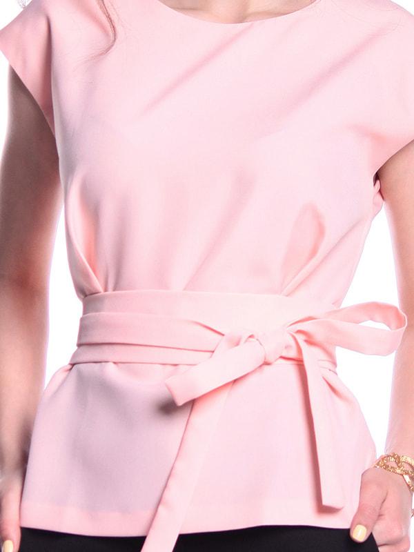 Блуза нежно-персикового цвета   3323489   фото 3