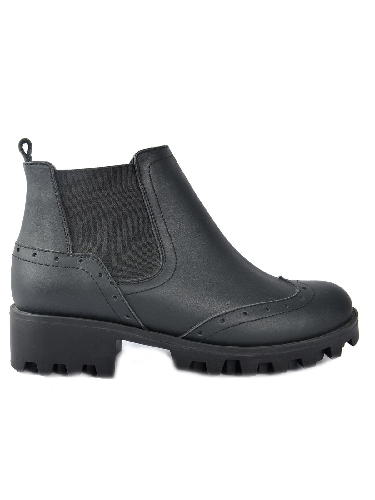 Ботинки черные   4678091