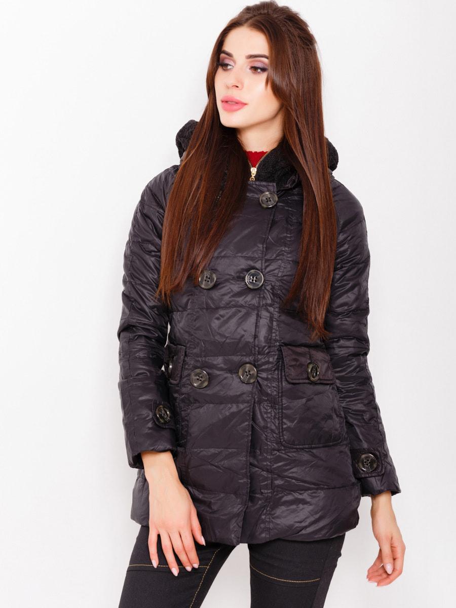 Куртка чорна | 4678501