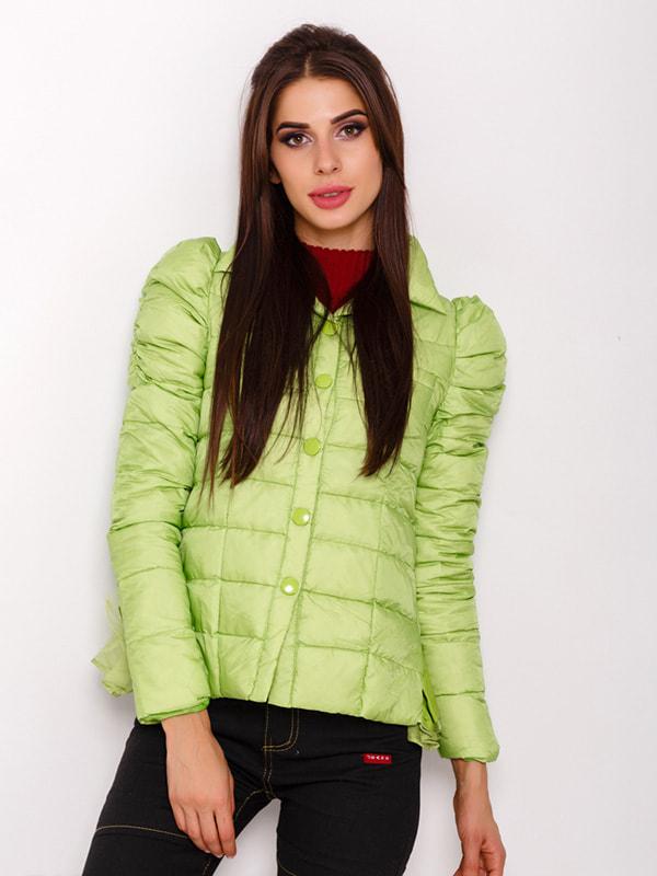 Куртка салатовая | 4678511