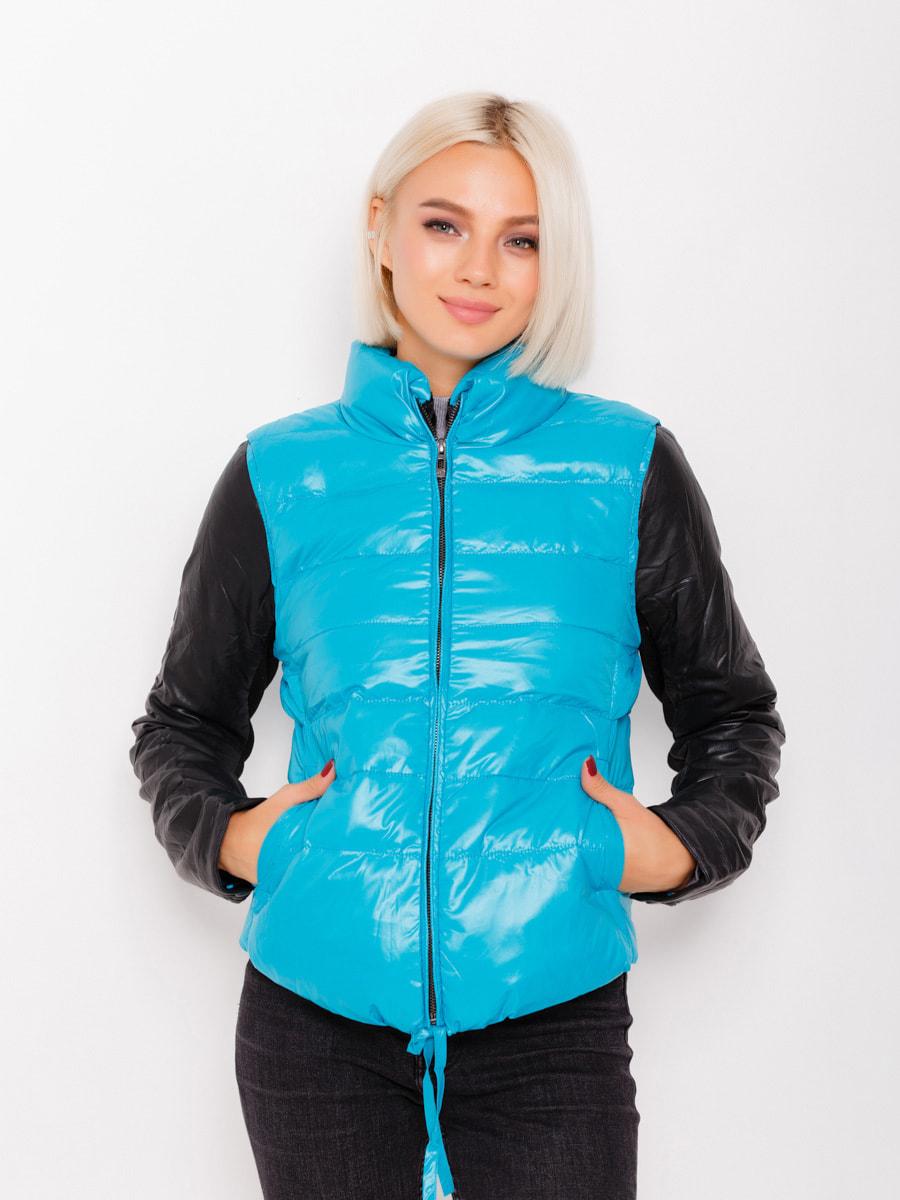 Куртка бирюзовая | 4678527