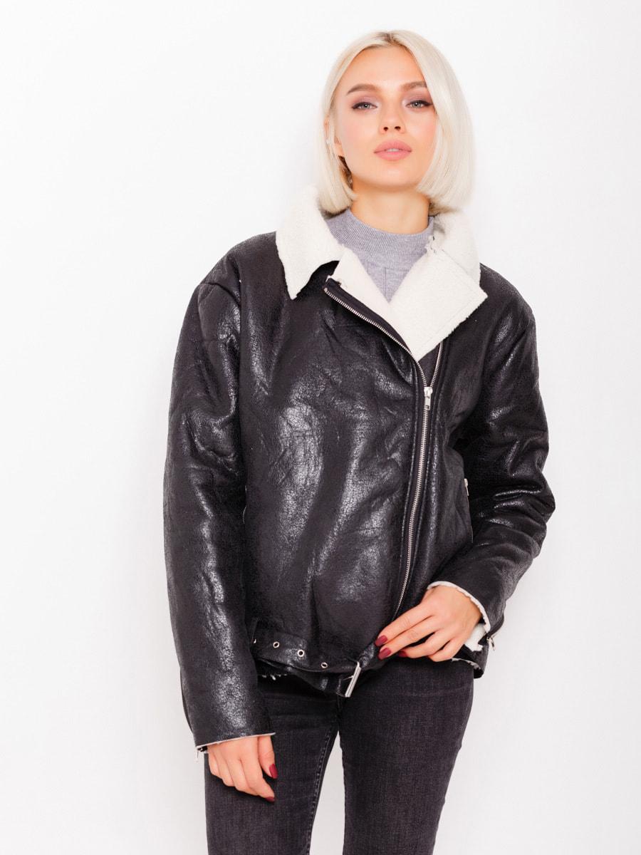 Куртка чорна | 4678530