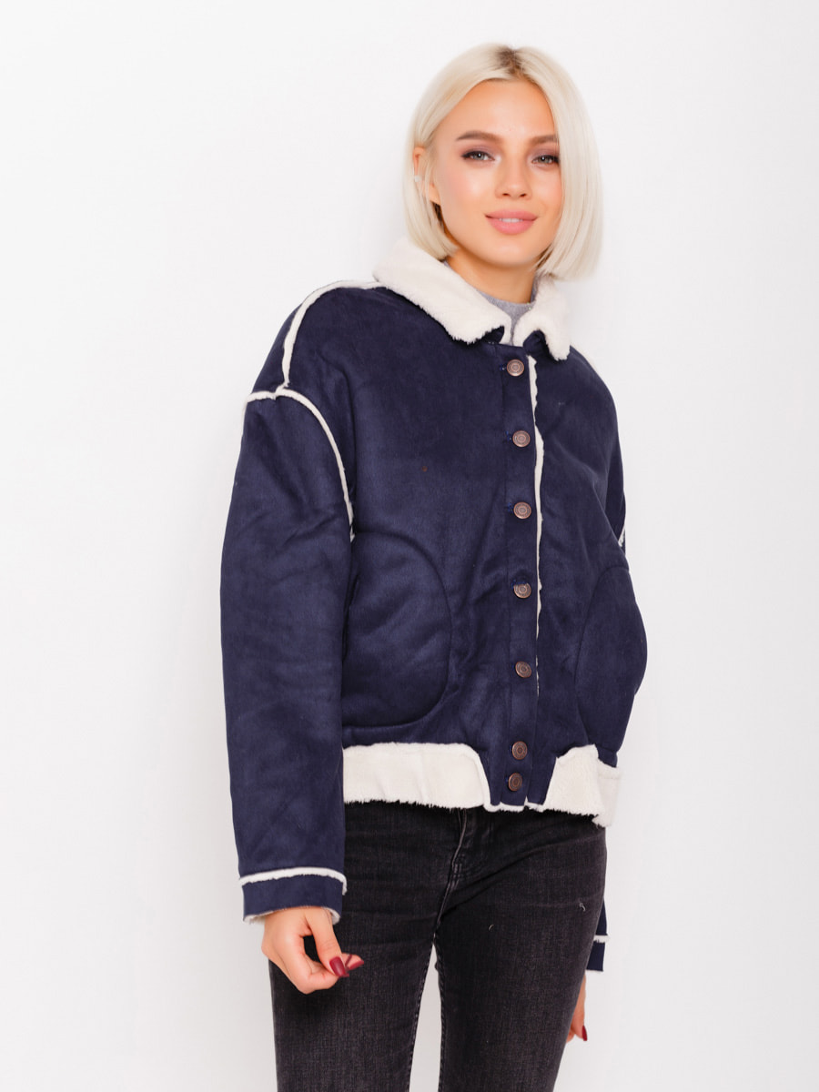 Куртка темно-синя | 4678531
