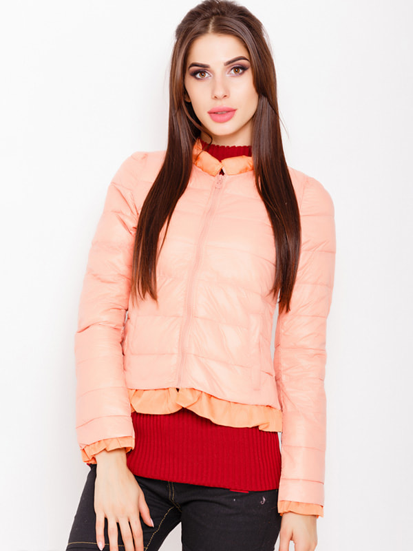 Куртка персикового цвета | 4678540