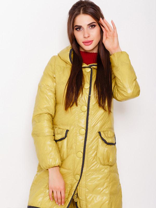 Куртка оливкового цвета | 4678547
