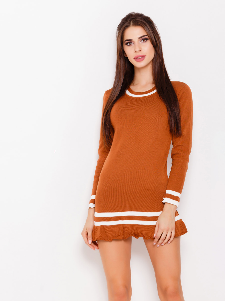 Платье коричневое | 4678626