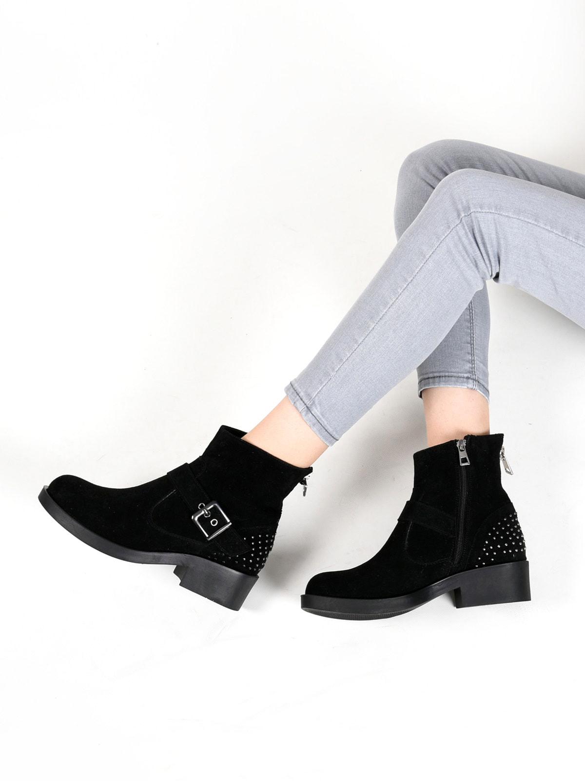 Ботинки черные | 4678350