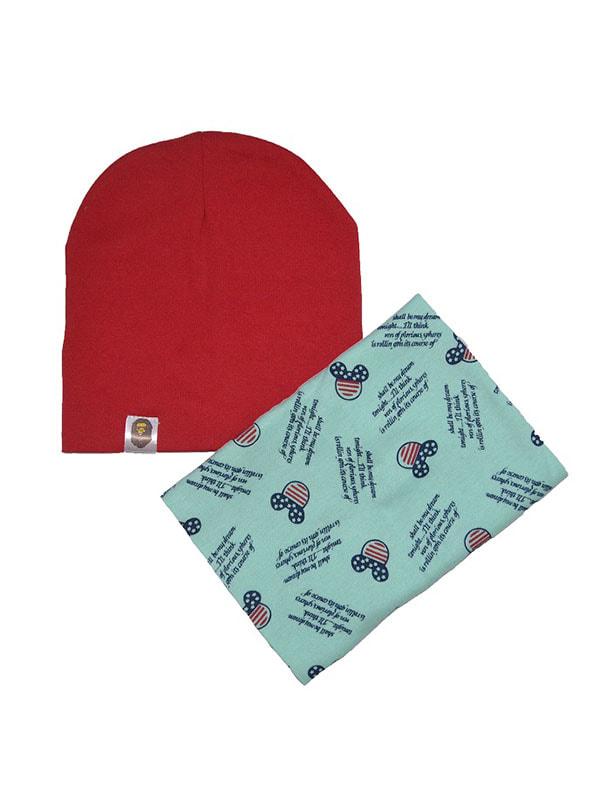 Комплект: шапка, снуд   4678946