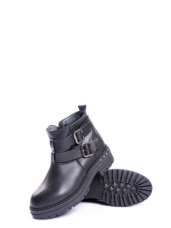 Ботинки черные | 4678688 | фото 5