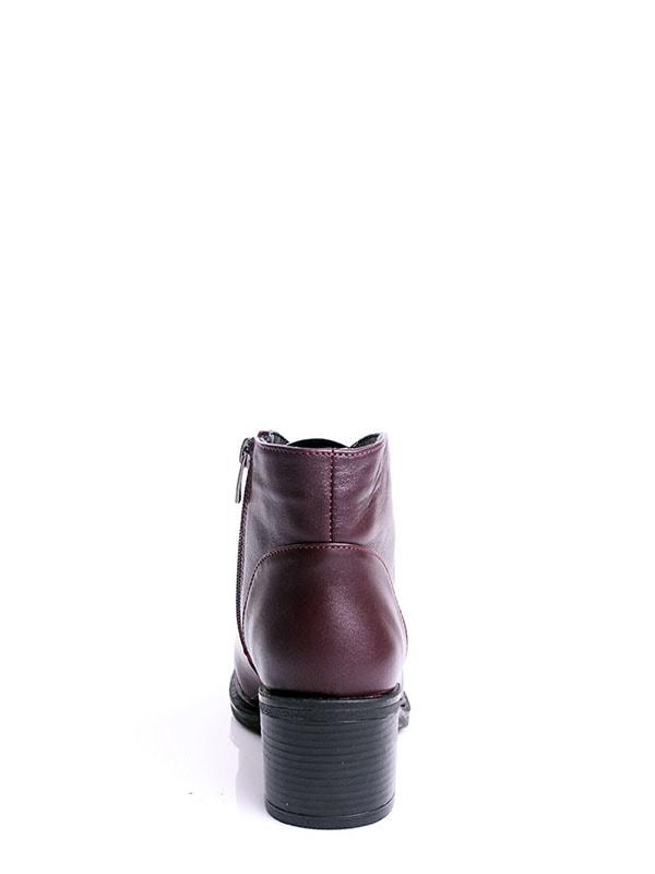 Ботинки бордовые | 4678691 | фото 4