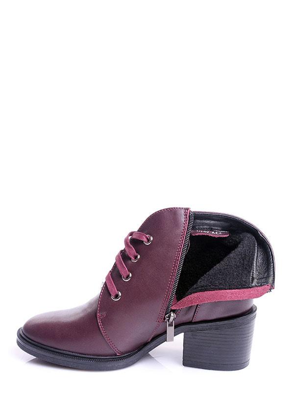 Ботинки бордовые | 4678691 | фото 6
