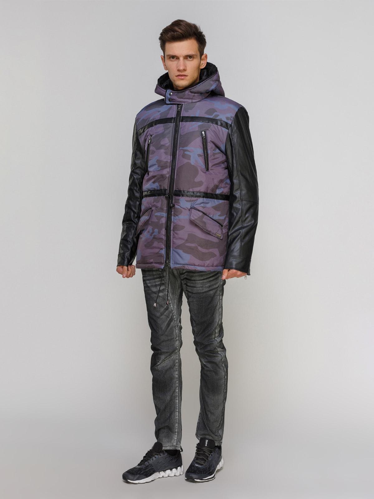 Куртка камуфляжной расцветки | 4665272 | фото 2