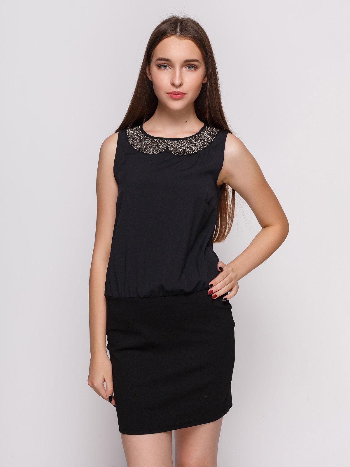 Платье черное | 4632613