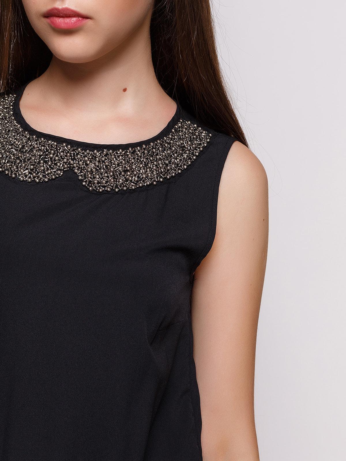 Платье черное | 4632613 | фото 3