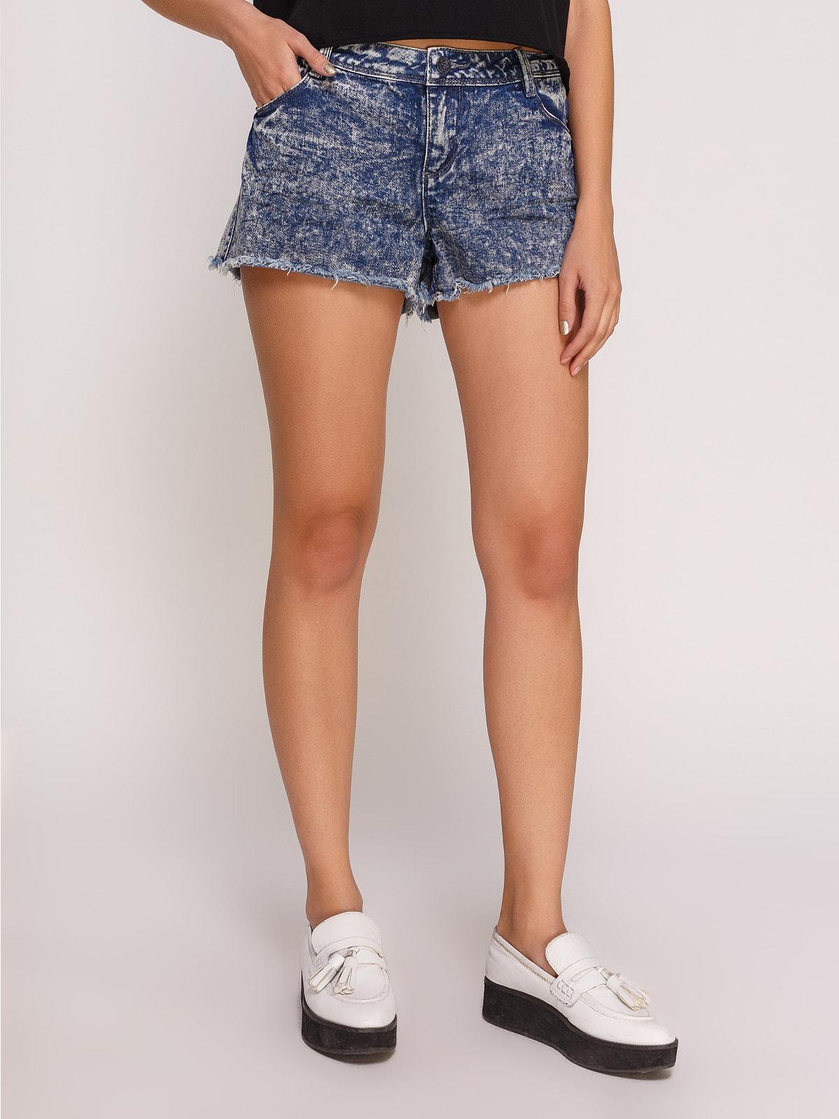 Шорты синие джинсовые | 4630573