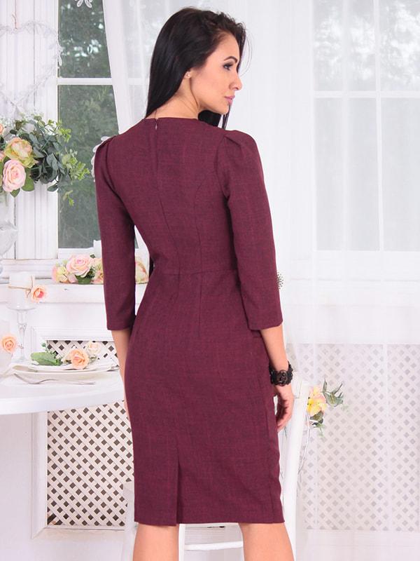Платье сливового цвета | 4655966 | фото 2