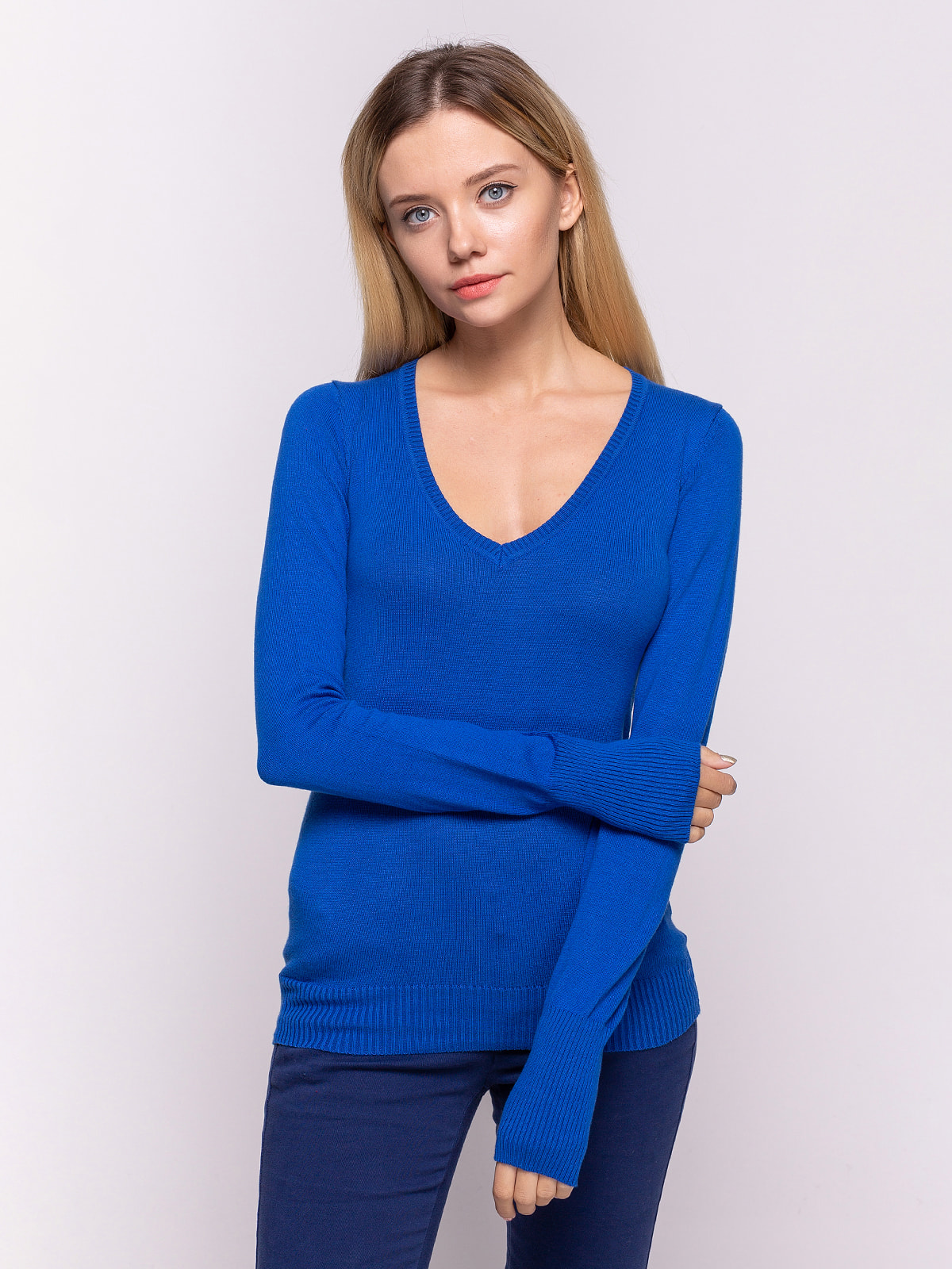Пуловер синій   4641927