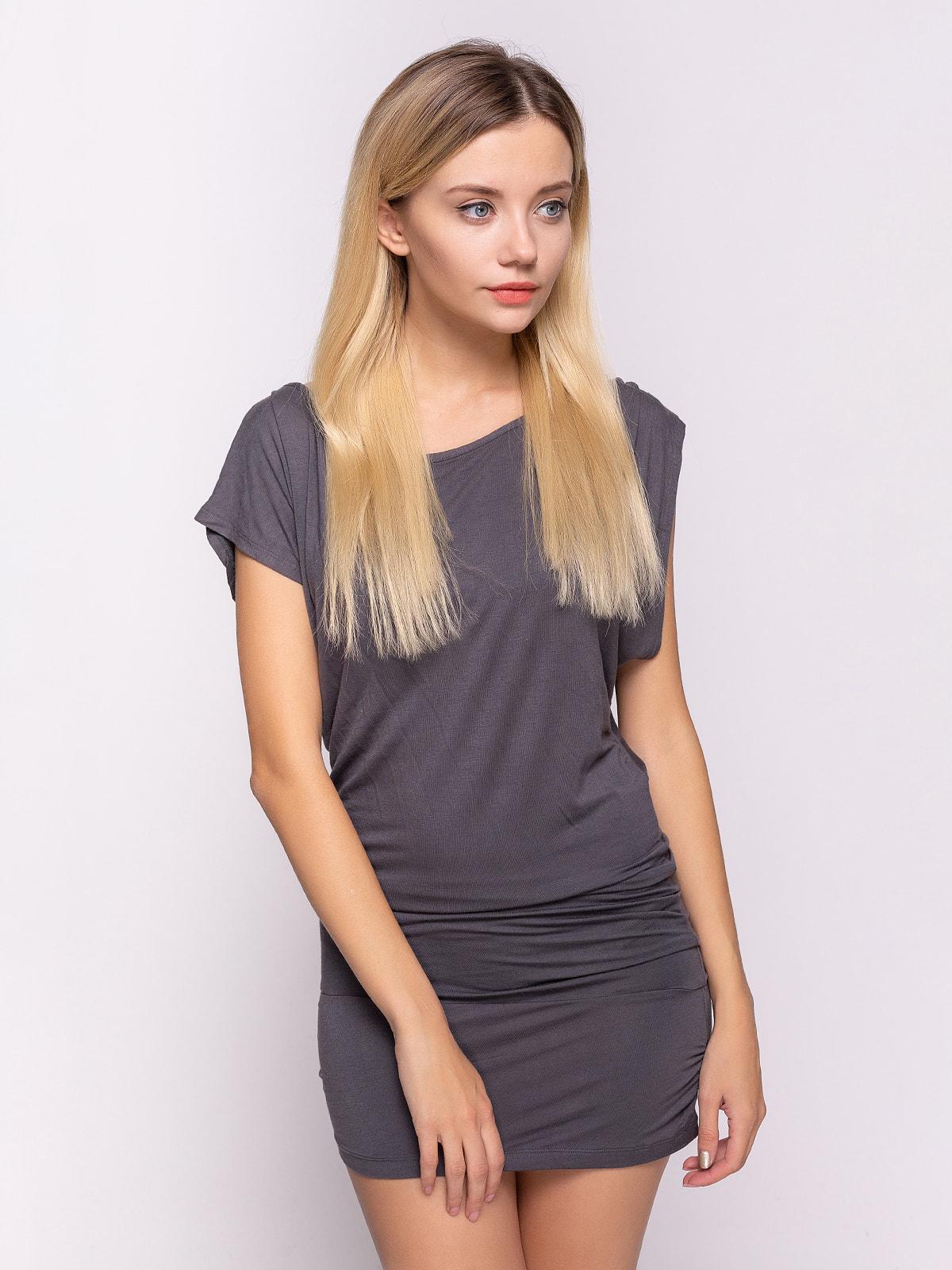 Сукня сіра | 4641101