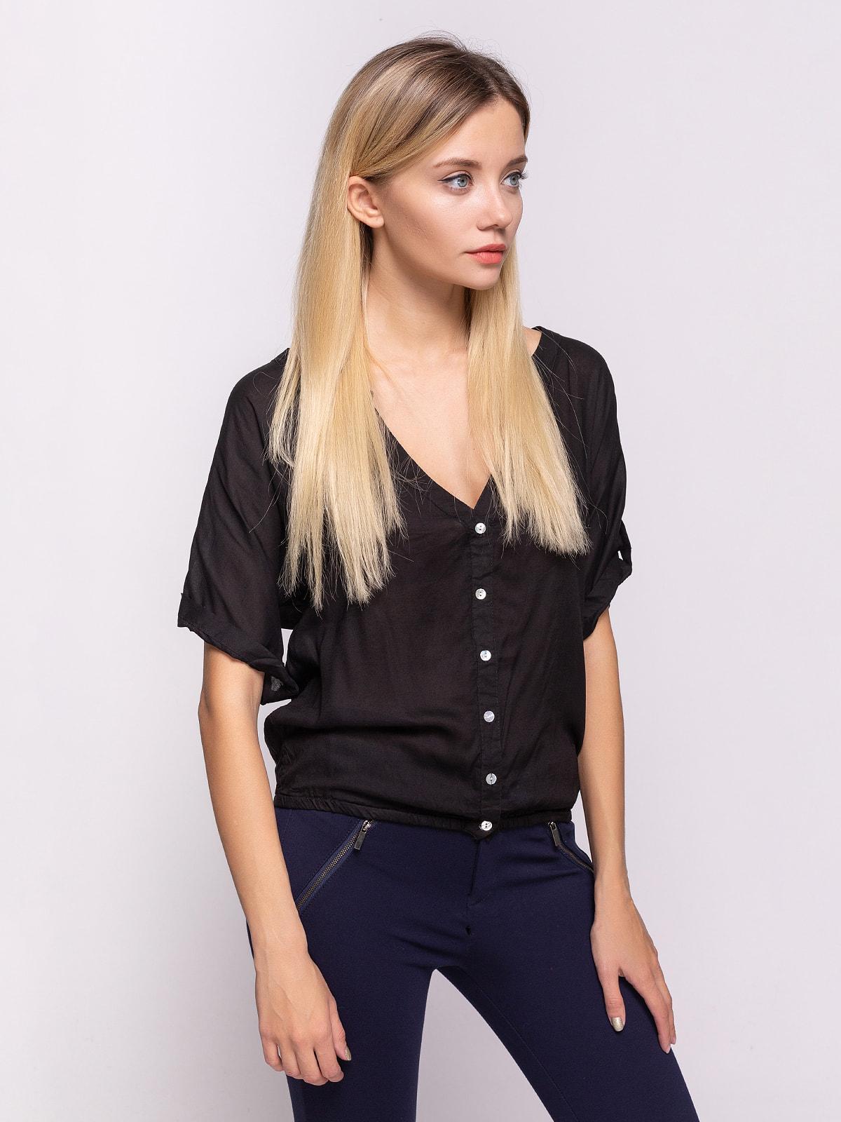 Блуза черная | 4626294