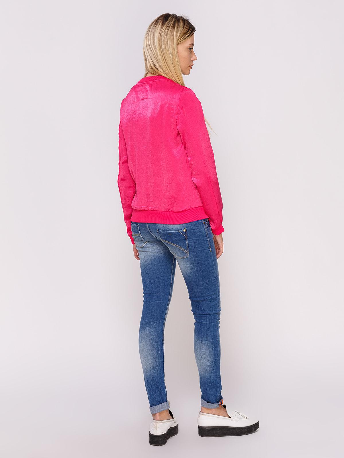 Бомбер рожевий   4627041   фото 3