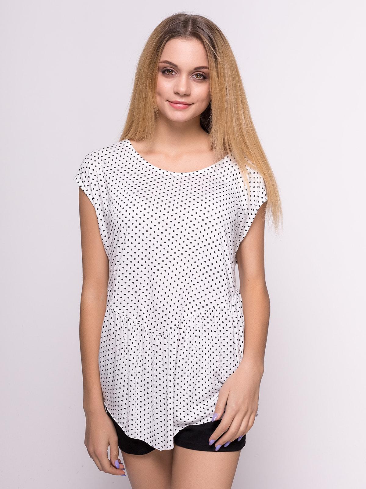 Блуза белая   4630607