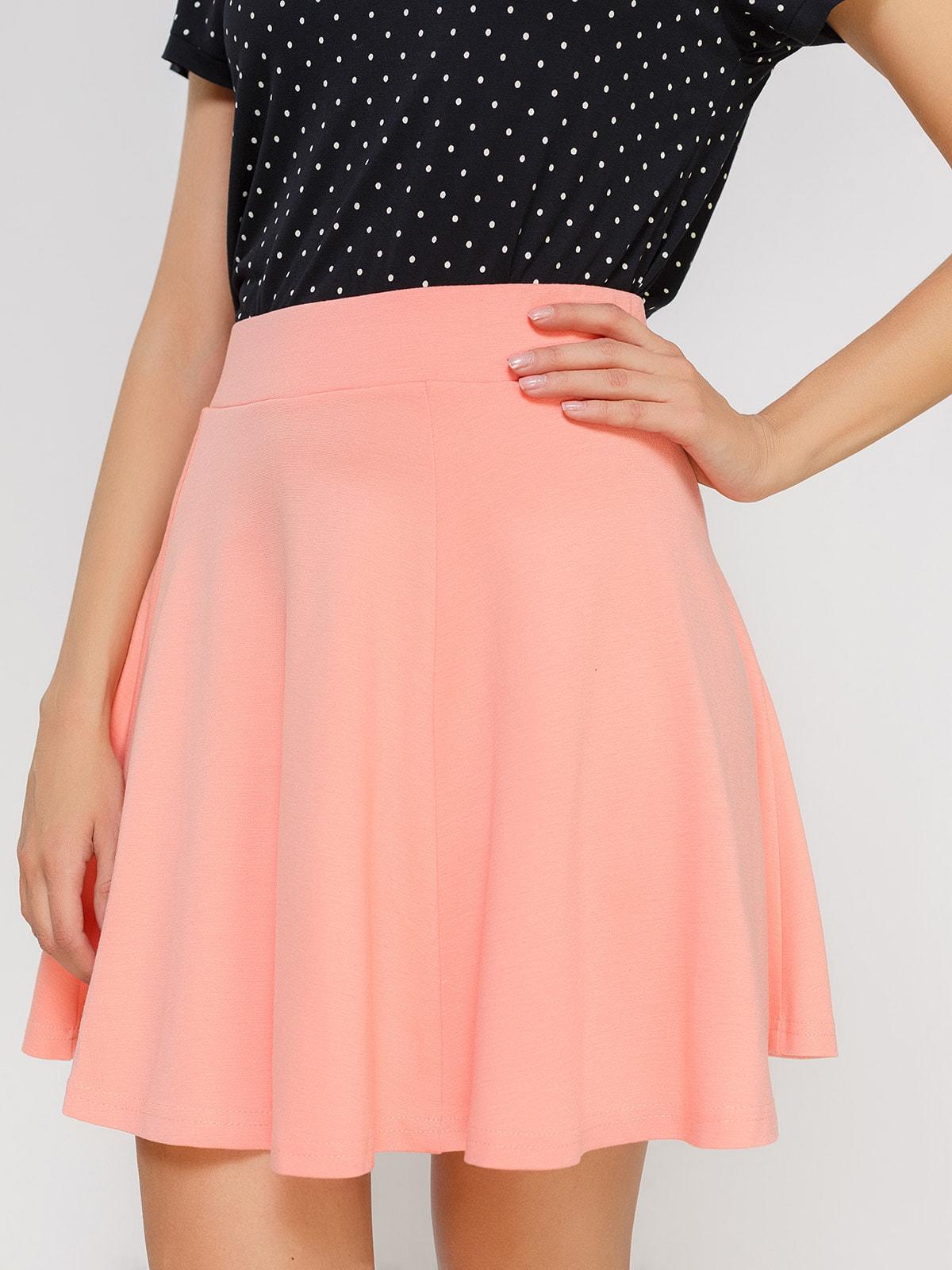 Юбка персикового цвета | 4634549 | фото 4