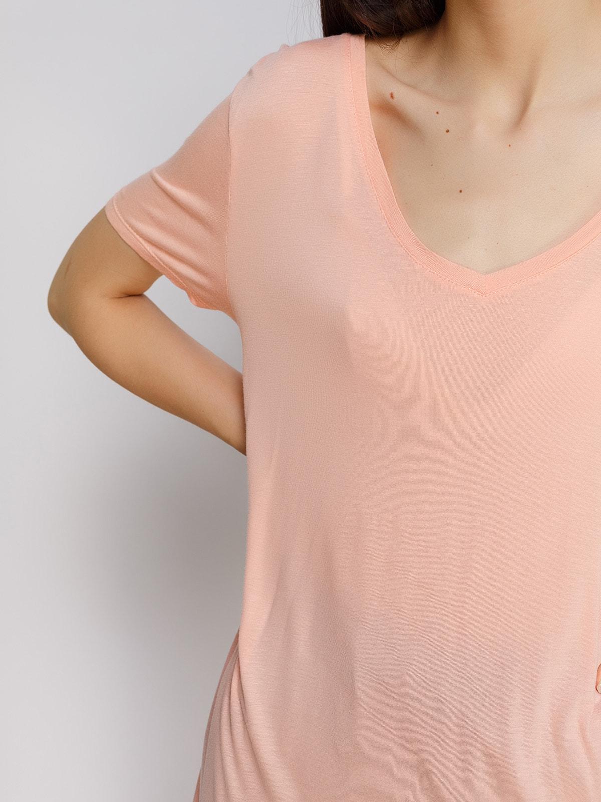 Туника персикового цвета   4623370   фото 3