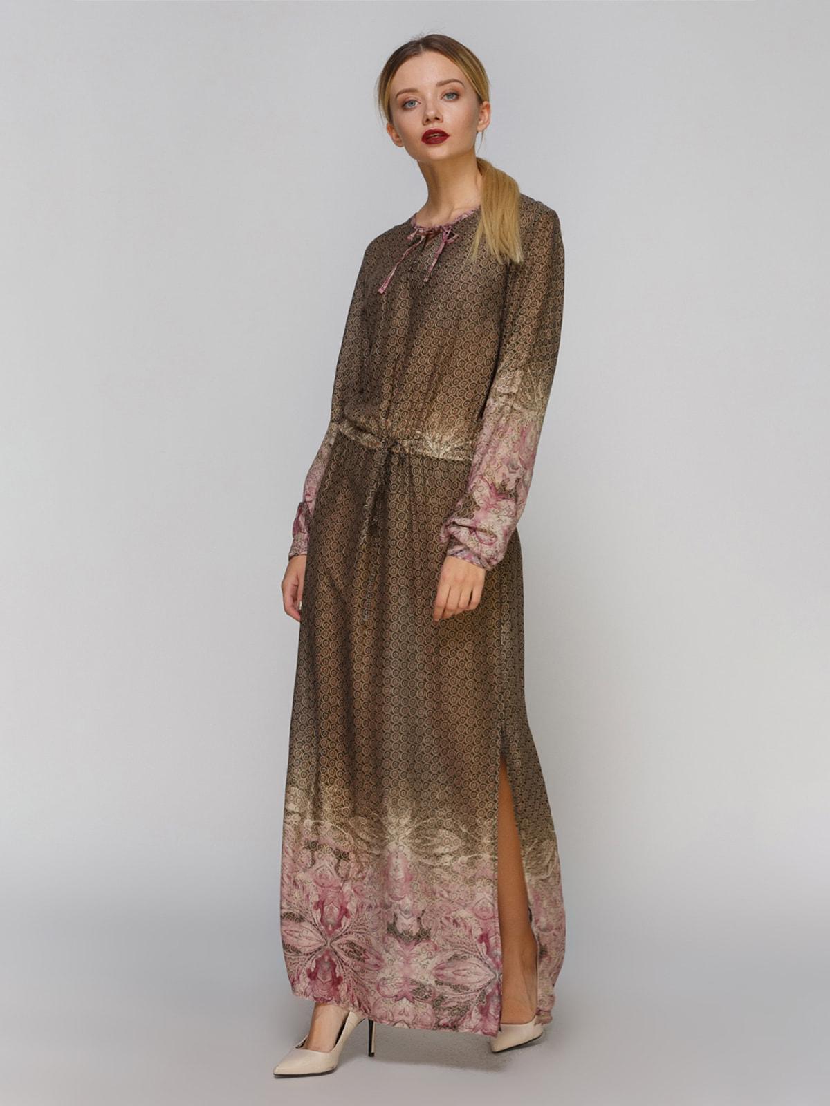 Сукня комбінованого забарвлення   4665269