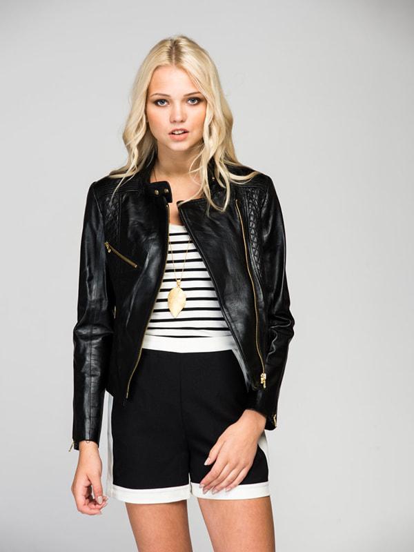 Куртка чорна | 4686725