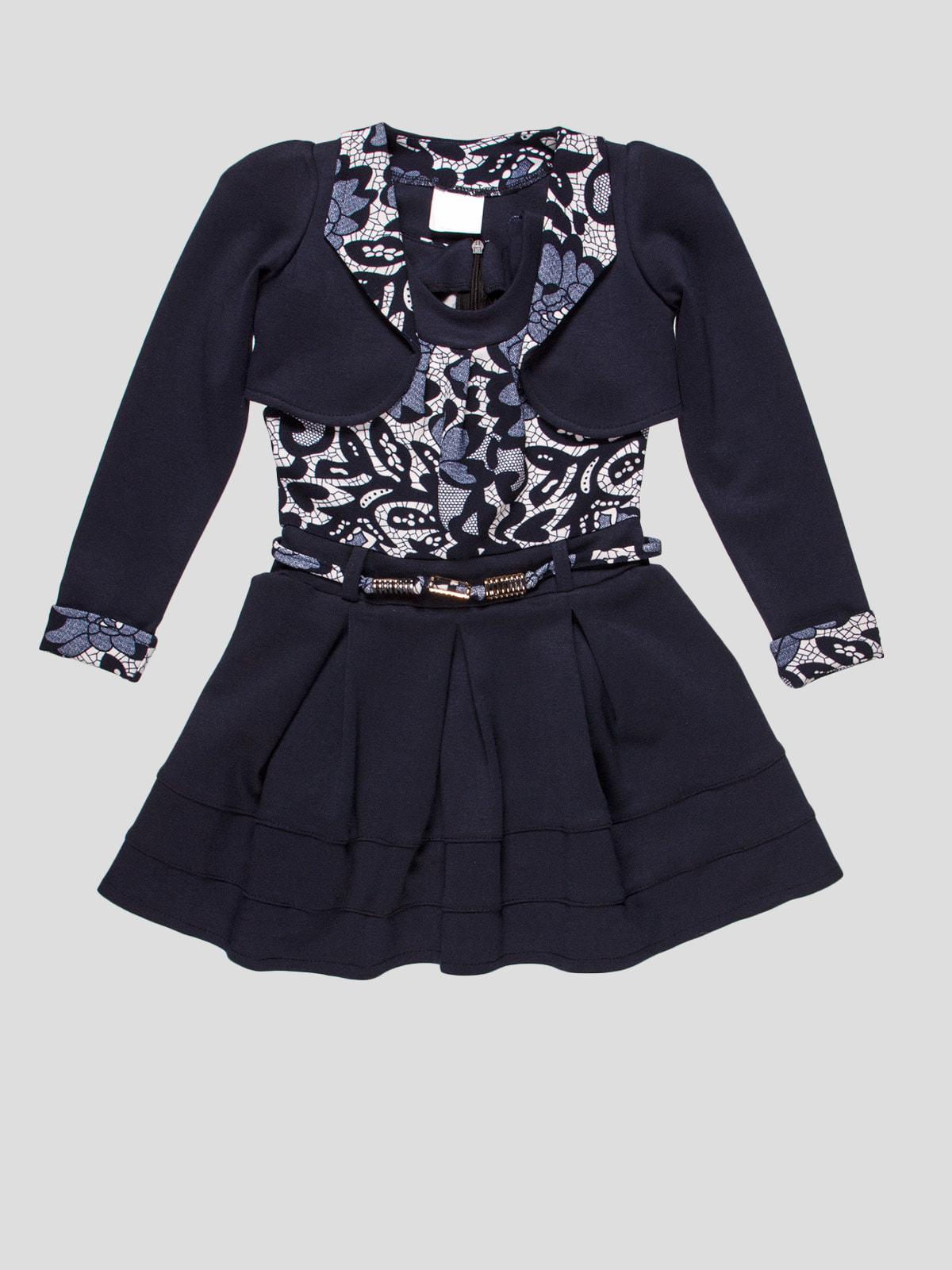 Комплект: сукня і болеро | 4670548