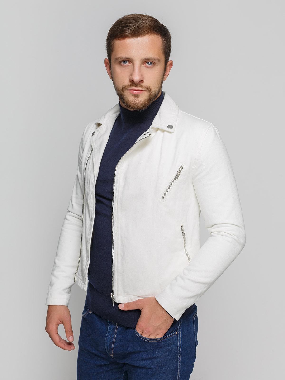 Куртка белая   4519459