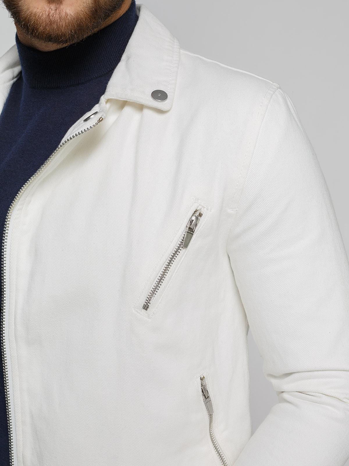Куртка белая   4519459   фото 4
