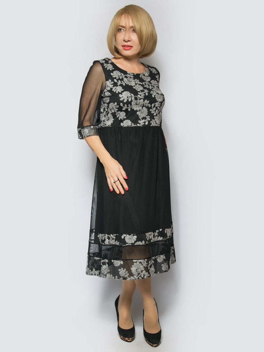 Платье серое | 4688728