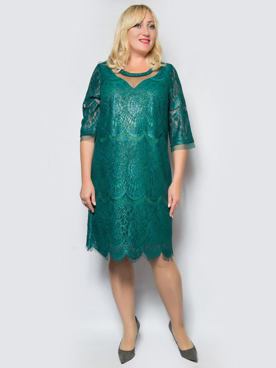 Платье зеленое | 4688734