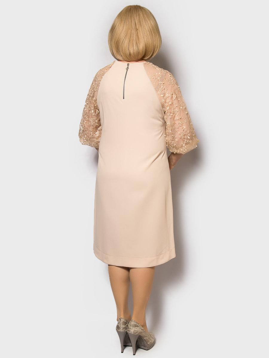 Платье пудрового цвета | 4688736 | фото 2