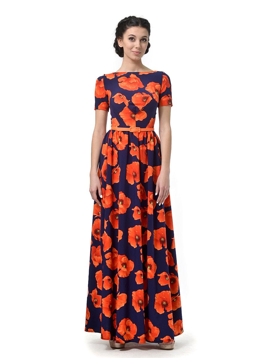 Сукня квіткового забарвлення | 4688172