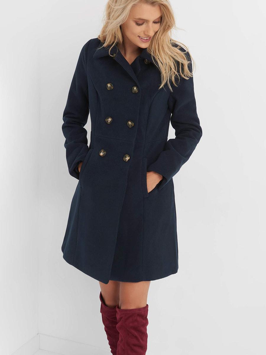 Пальто синє | 4677712