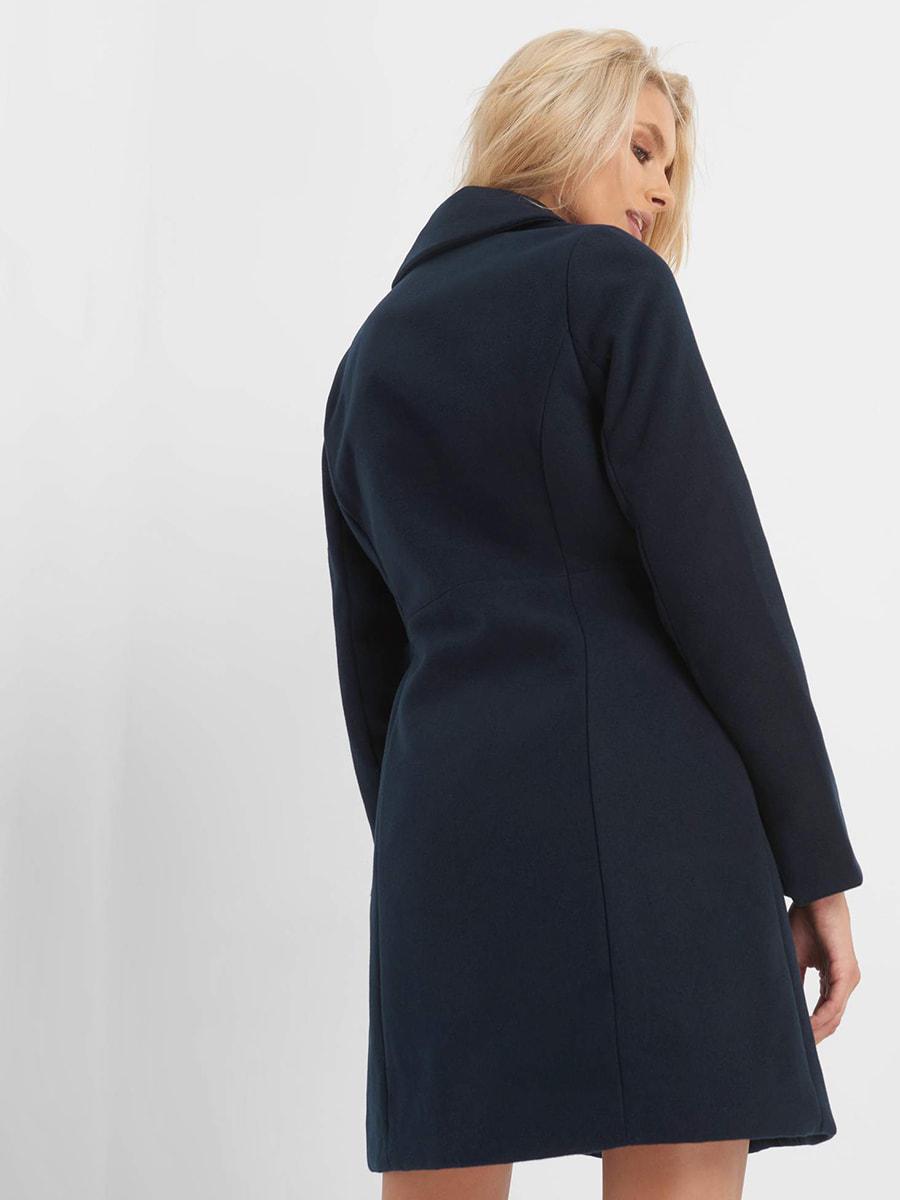 Пальто синє | 4677712 | фото 2