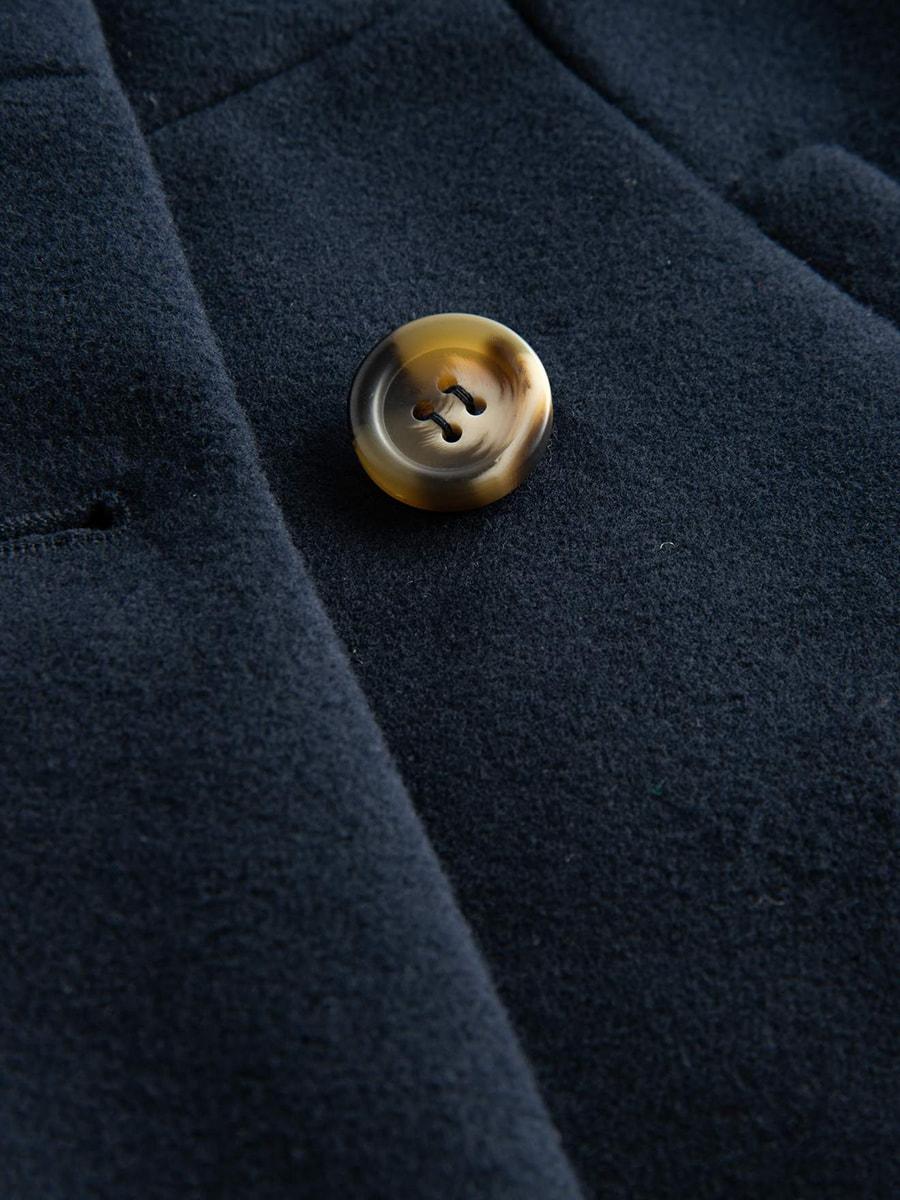 Пальто синє | 4677712 | фото 3