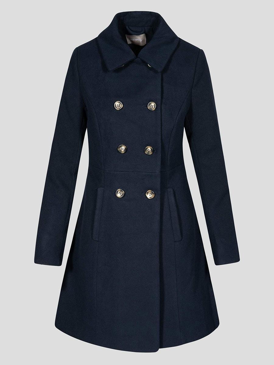 Пальто синє | 4677712 | фото 5